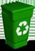 Ícone Microsoft lixeira vazia